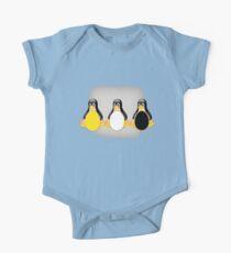 LINUX TUX PENGUIN  3 COLOR EGGS Kids Clothes