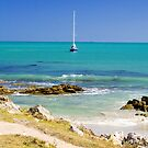 Boat at Robe, front on by Elana Bailey
