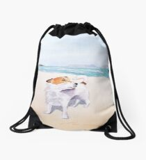 Sweet Scent of Freedom Drawstring Bag