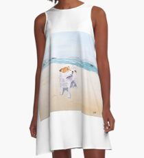 Sweet Scent of Freedom A-Line Dress