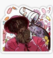 JUICE WRLD ON DRGS Sticker
