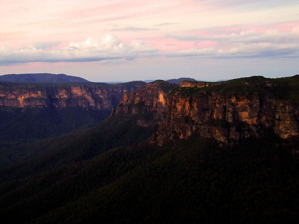 Blue Mountains by jazzkat89