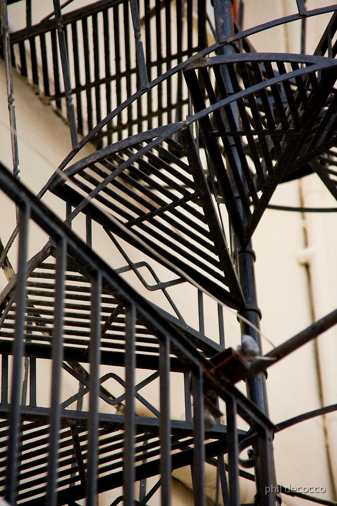 Spiral Stairs by phil decocco