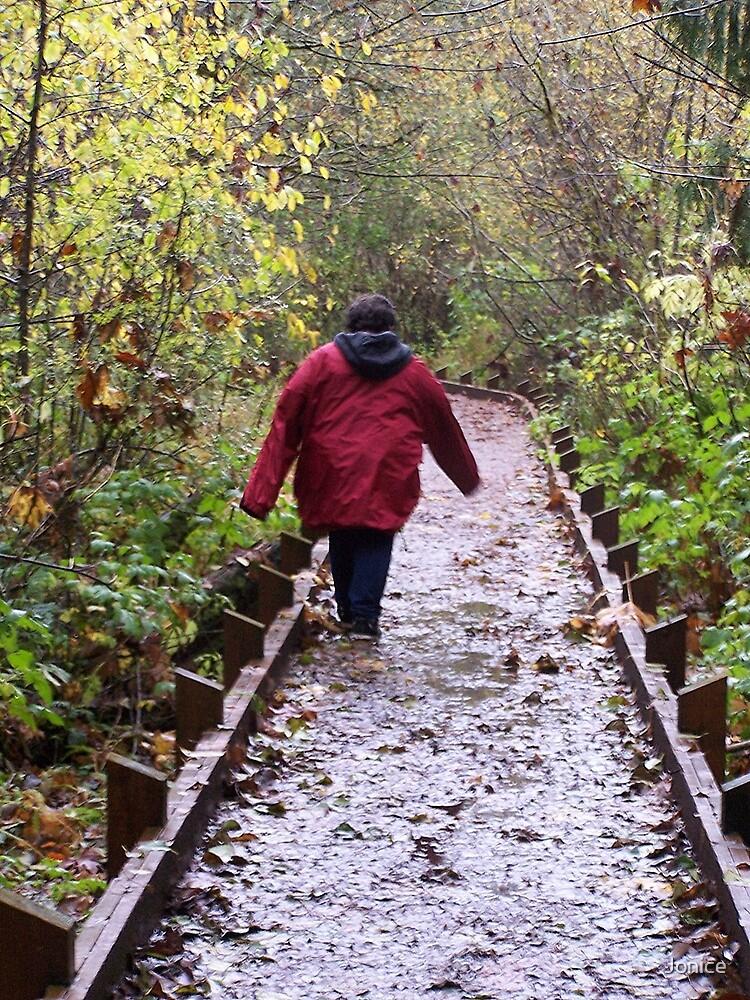 A Walk In The Woods by Jonice