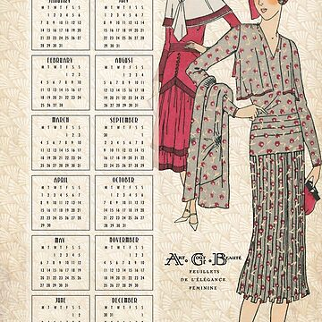 The 30s Calendar No2 by HeritageScrap
