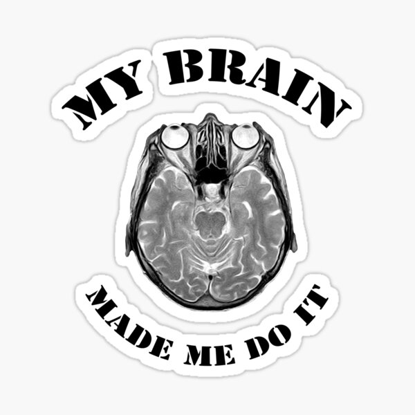 Brain Master Sticker