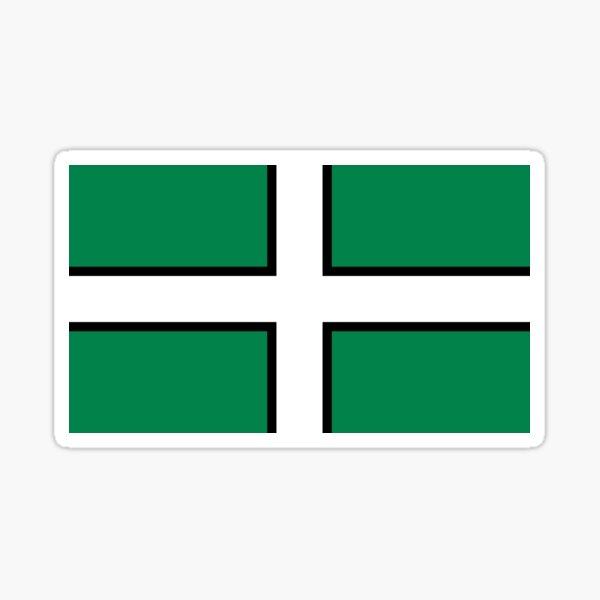 Devon county flag Sticker
