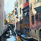 Venetian Waterway by Filip Mihail