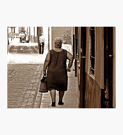 Going Shopping Photographic Print