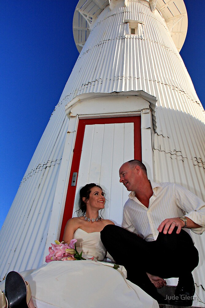 Sal & Scott Old Caloundra Light House by Jude Glenn