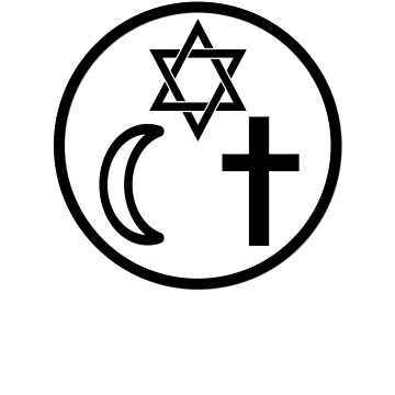 Coexist World Religion Peace Peace by zejose