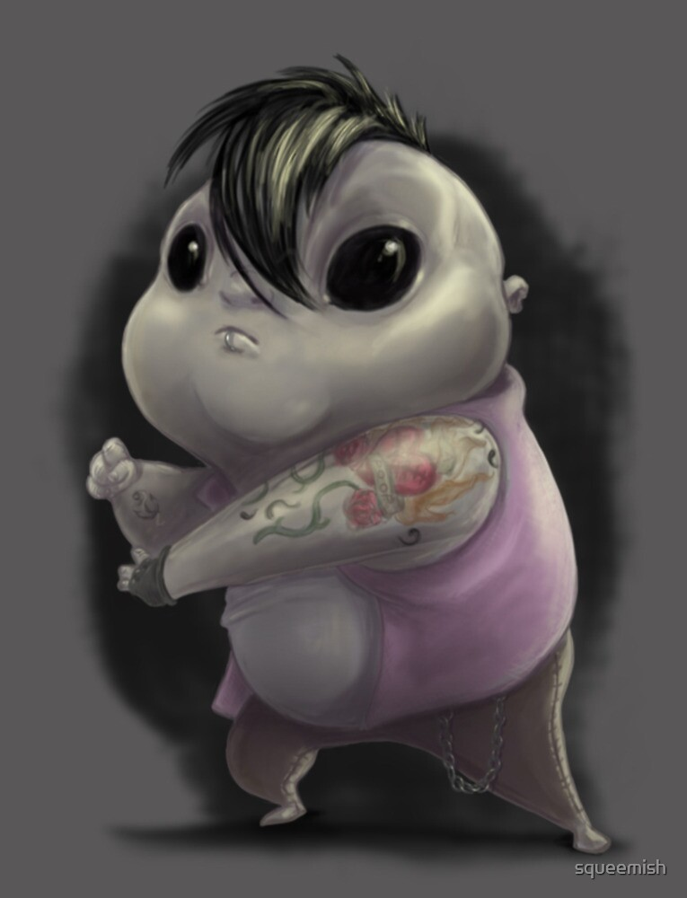 Chubby Little Punk by squeemish