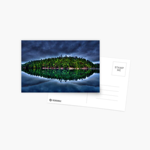 Curlew Island in the Weather Postcard