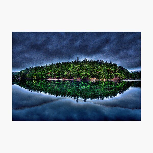 Curlew Island in the Weather Photographic Print
