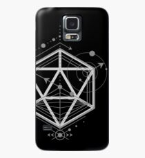 Alchemy Symbols Polyhedral D20 Dice Dungeons Crawler and Dragons Slayer Tabletop RPG Addict Case/Skin for Samsung Galaxy