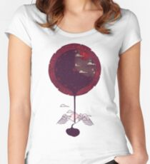 Night Falling Women's Fitted Scoop T-Shirt