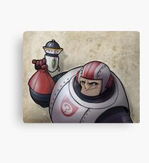 Space Buffoon Canvas Print
