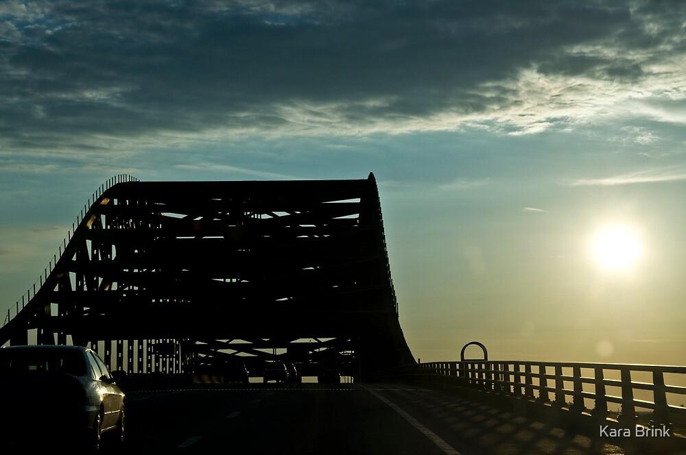 bridge in Maine by Kara Brink