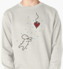 fishing for your heart Pullover Sweatshirt