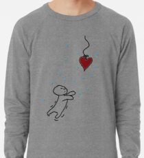 fishing for your heart Lightweight Sweatshirt