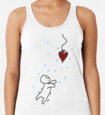 fishing for your heart Racerback Tank Top