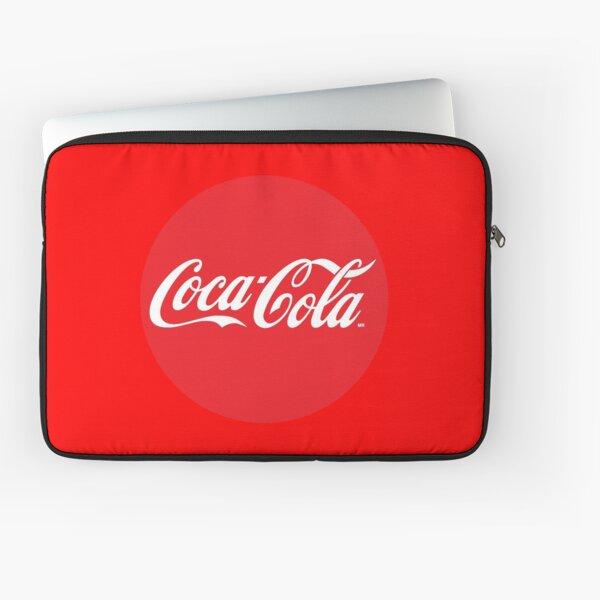 Logo Cercle Rouge Coca Cola Housse d'ordinateur