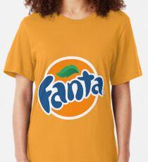 Fanta original orange logo Slim Fit T-Shirt