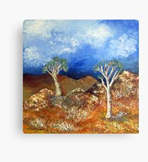 Quiver trees / Kokerbome Canvas Print