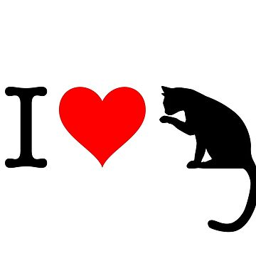 I Love Cat by fourretout