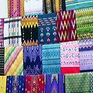 Cloth at the Bogyoke Aung San Market by Mark Prior
