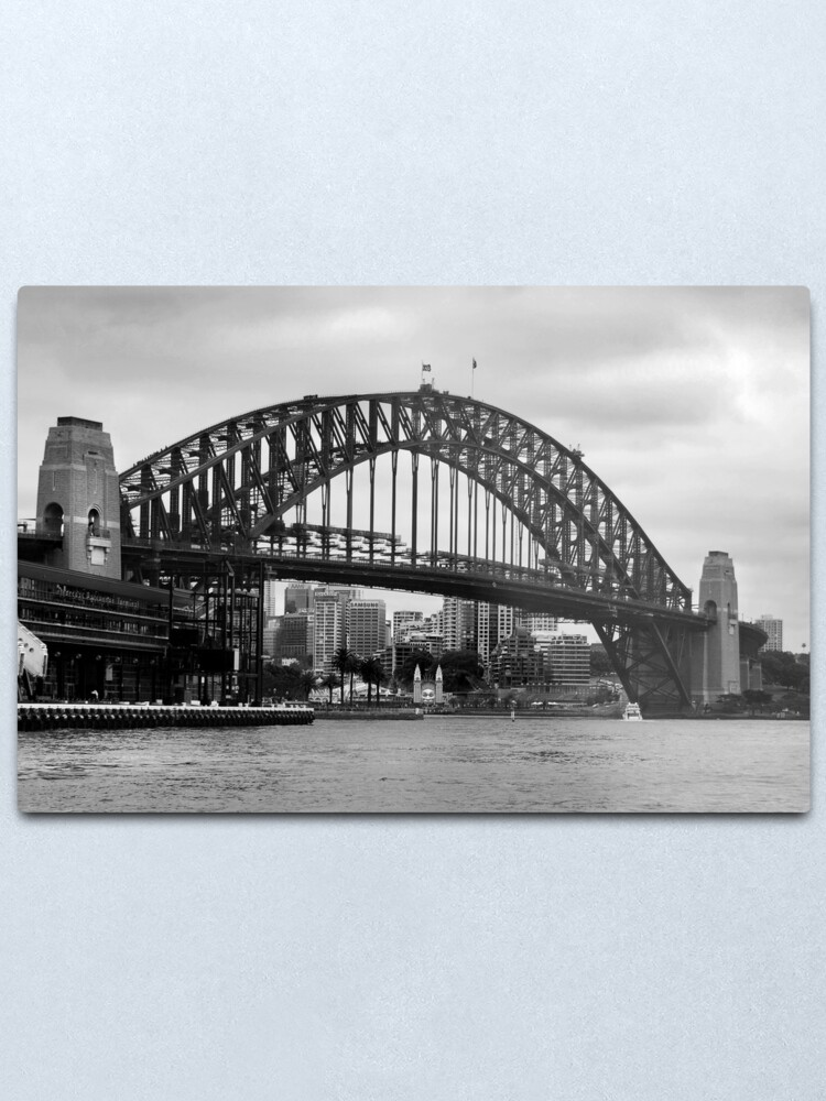 Alternate view of Sydney Harbour Bridge Metal Print