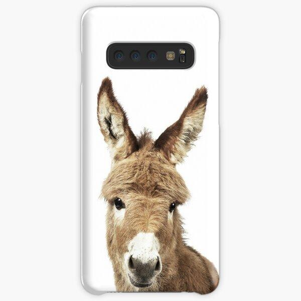 Donkey Portrait Samsung Galaxy Snap Case