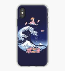 Thee great wave of Ponyo! iPhone Case