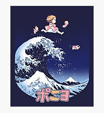 Thee great wave of Ponyo! Photographic Print