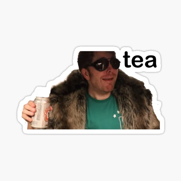 shane dawson tea Sticker