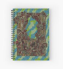 Droplets - The Qalam Series Spiral Notebook