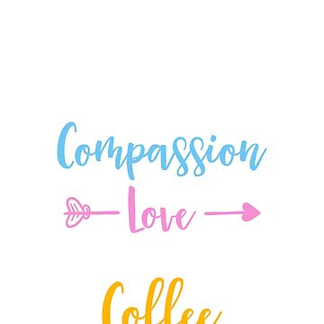 Nursing Student Gifts Love Coffee School Saying Tee Shirts by noirty