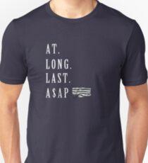 A$AP Rocky - At Long Last ASAP (ALLA) on black  T-Shirt