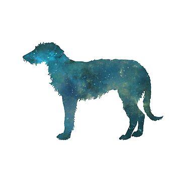 Deerhound by GwendolynFrost