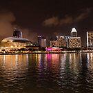 Singapore skyline by Mark Prior