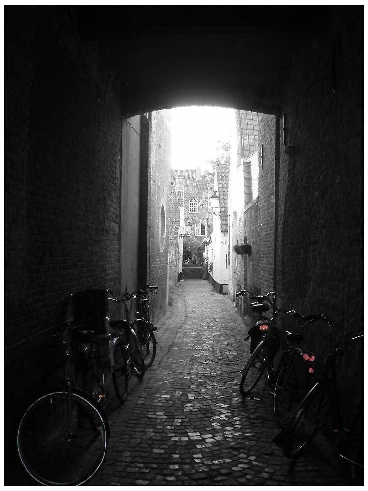 Alleyway in Bruges by Guerrilla