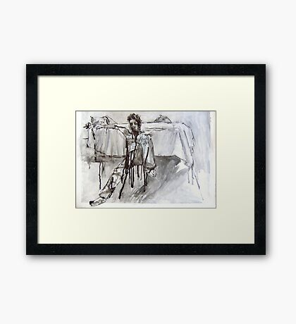 Adam's Room Framed Print
