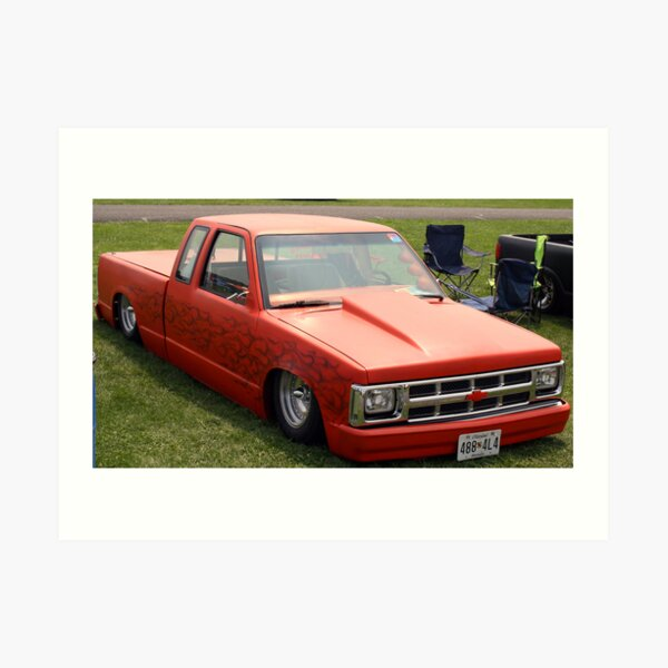 Chevy S10 Lowrider Art Print
