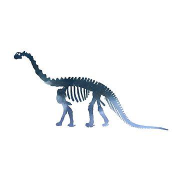 Dinosaur Skeleton  by GwendolynFrost