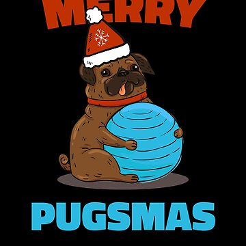Merry Pugsmas Christmas Pug by hadicazvysavaca