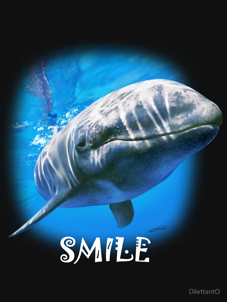 'SMILE' TEE SHIRT by DilettantO