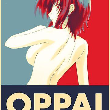 High School DxD - Xenovia Quarta Oppai Pop Art by APerspective