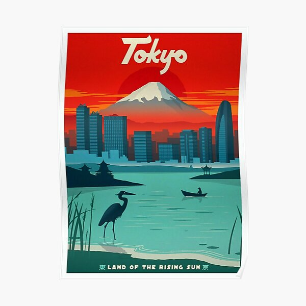 Tokyo Sunset Poster