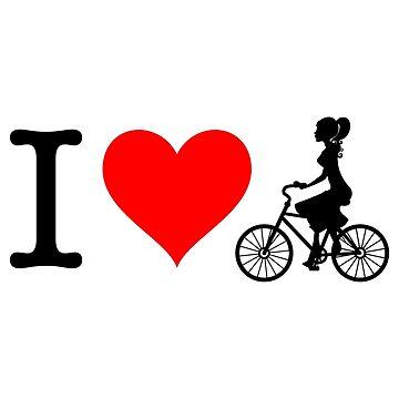 I Love Bike II by fourretout