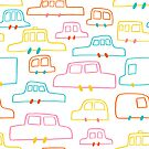 Happy Cars by Amy Walters